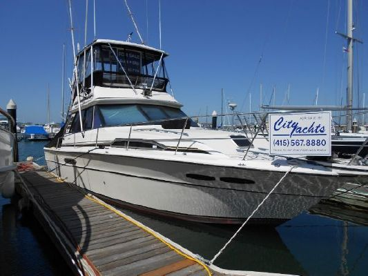 Sea Ray 39' Sport Fish Sedan 1985 Sea Ray Boats for Sale