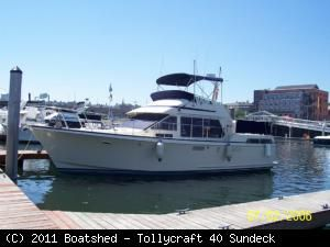 Tollycraft 40 SunDeck 1985 All Boats