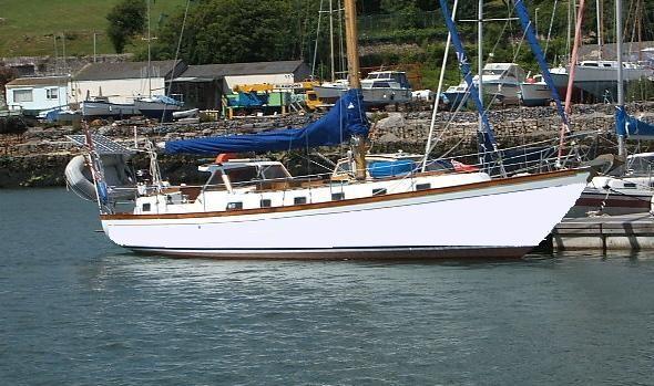 Van De Stadt 45 Sloop 1985 Sloop Boats For Sale