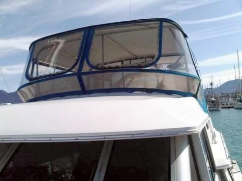 1986 bayliner 4550 pilot house motor yacht  6 1986 Bayliner 4550 Pilot House Motor Yacht
