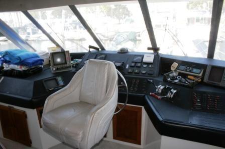 1986 bayliner 4550 pilothouse free slip for 6 motnhs  9 1986 . Bayliner .4550 Pilothouse FREE SLIP FOR 6 MOTNHS