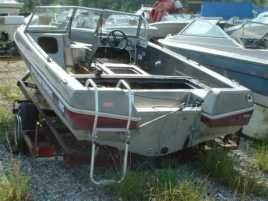 1986 cajun th cajun espirit 17 bass boat boats yachts for Bass fishing yard sale