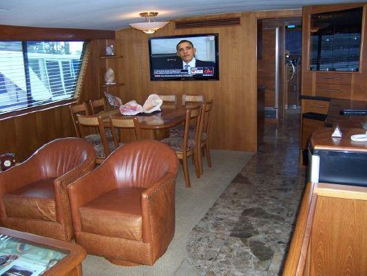 Custom Hatteras Cockpit Motor Yacht 1986 Hatteras Boats for Sale