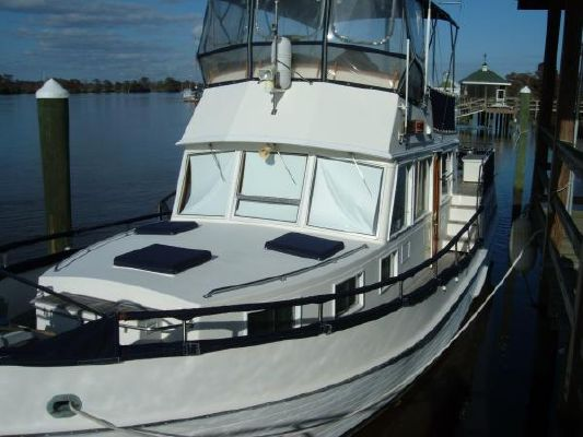 1986 grand banks hydraulic stabilizers motor yacht for Grand banks motor yachts for sale