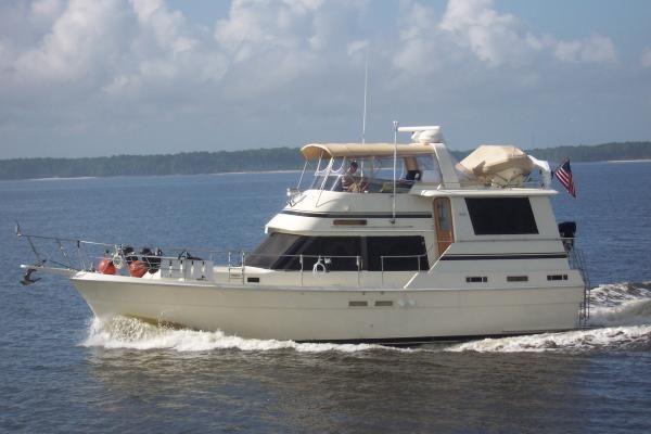 1986 Gulfstar 44 Wb Motor Yacht Boats Yachts For Sale