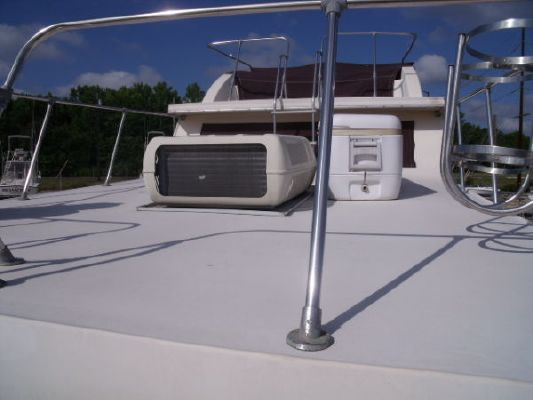 Holiday Mansion flybridge barracuda 1986 Flybridge Boats for Sale