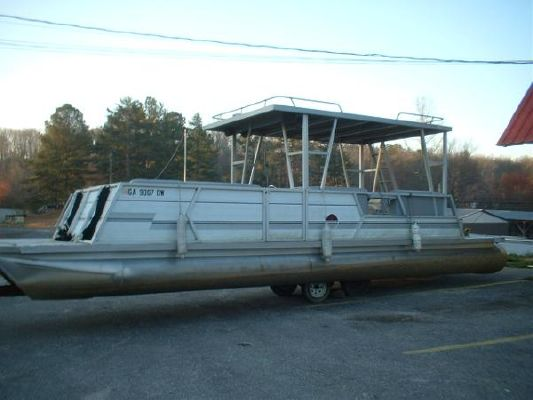 1986 Lakes Craft 28 Hard Top Pontoon Boats Yachts For Sale