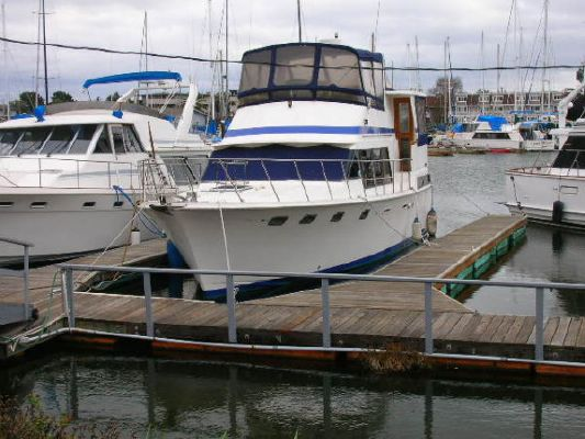 Lien Hwa Sundeck Trawler 1986 Trawler Boats for Sale