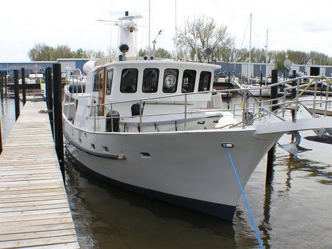 Seaton Custom LRC Pilothouse Trawler 1986 Pilothouse Boats for Sale