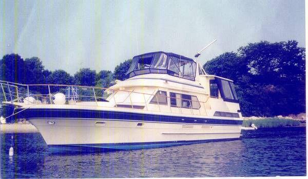 1986 vista motor yacht  1 1986 Vista Motor Yacht