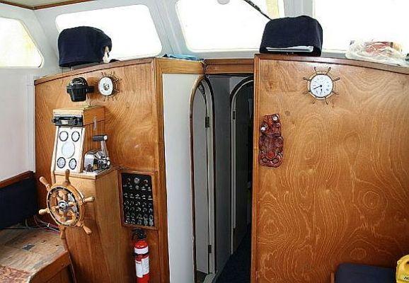 Wagstaff 34 Motorsailer 1986 Sailboats for Sale