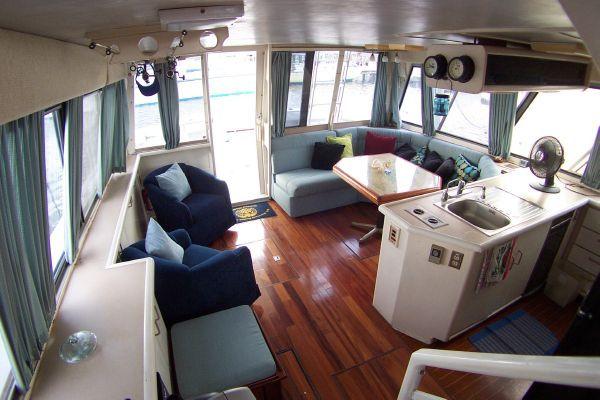 1987 bayliner 4550 motoryacht w twin volvo 360 hp  21 1987 Bayliner 4550 Motoryacht w/Twin Volvo 360 hp