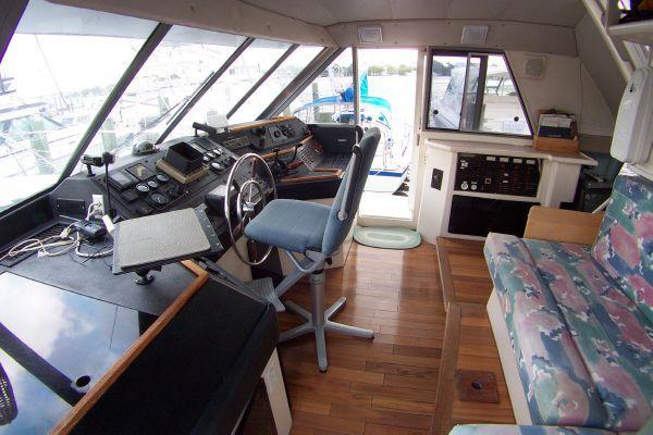 1987 bayliner 4550 motoryacht w twin volvo 360 hp  25 1987 Bayliner 4550 Motoryacht w/Twin Volvo 360 hp