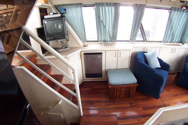 1987 bayliner 4550 motoryacht w twin volvo 360 hp  26 1987 Bayliner 4550 Motoryacht w/Twin Volvo 360 hp