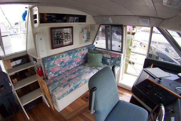 1987 bayliner 4550 motoryacht w twin volvo 360 hp  27 1987 Bayliner 4550 Motoryacht w/Twin Volvo 360 hp
