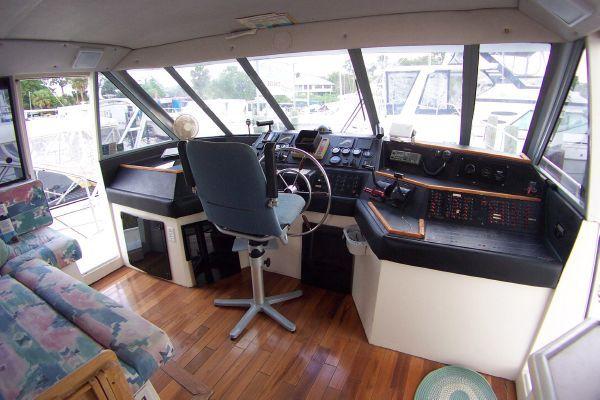 1987 bayliner 4550 motoryacht w twin volvo 360 hp  4 1987 Bayliner 4550 Motoryacht w/Twin Volvo 360 hp