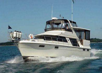 Carver 4207 Aft Cabin 1987 Aft Cabin Carver Boats for Sale