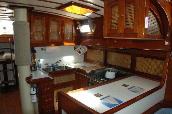 1987 cherubini staysail schooner  11 1987 Cherubini Staysail Schooner