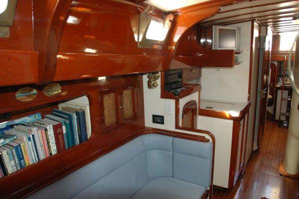 1987 cherubini staysail schooner  13 1987 Cherubini Staysail Schooner