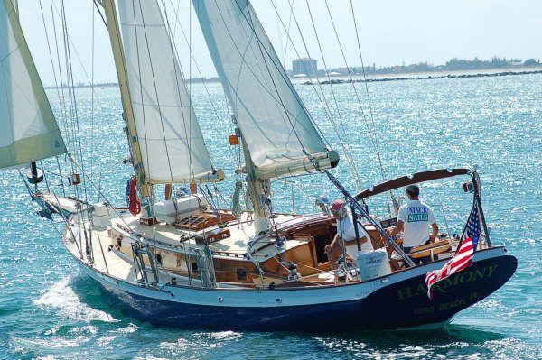 1987 cherubini staysail schooner  2 1987 Cherubini Staysail Schooner
