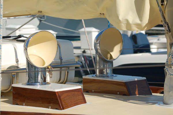 1987 cherubini staysail schooner  8 1987 Cherubini Staysail Schooner