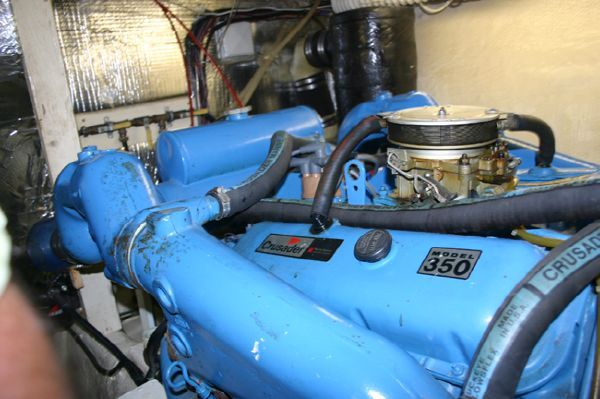 1987 chris craft 410 motor yacht boats yachts for sale for Chris motors auto sales