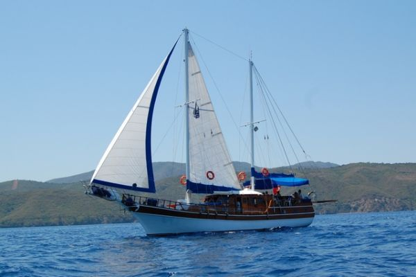 Custom Ketch Type Traditional Wooden Motor Sailer 1987 Ketch Boats for Sale