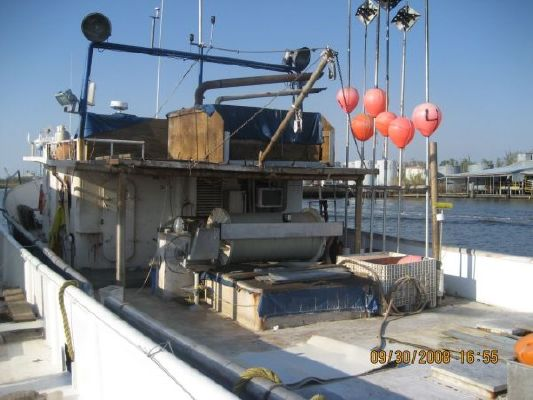 1987 custom steel tuna longline trawler fish cargo vessel for Tuna fishing boats for sale