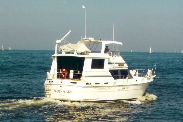 Boats for Sale & Yachts Gulfstar Wide Body Motor Yacht 1987 All Boats