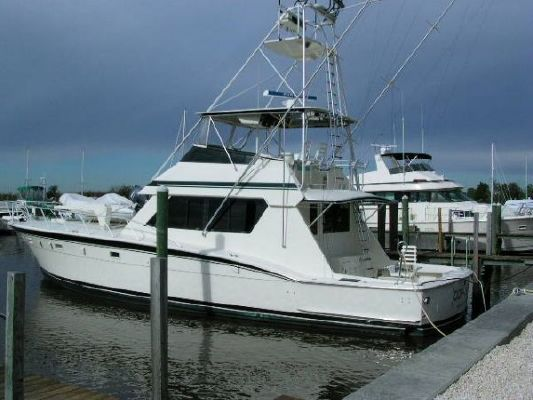 1987 Hatteras 55 Convertible / Sportfisherman - Boats Yachts for sale
