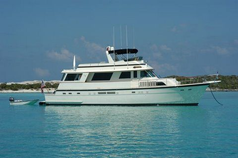 Hatteras Cockpit Motor Yacht 1987 Hatteras Boats for Sale