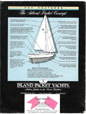 Boats for Sale & Yachts Island Packet 380 Cutter 1987 Sailboats for Sale