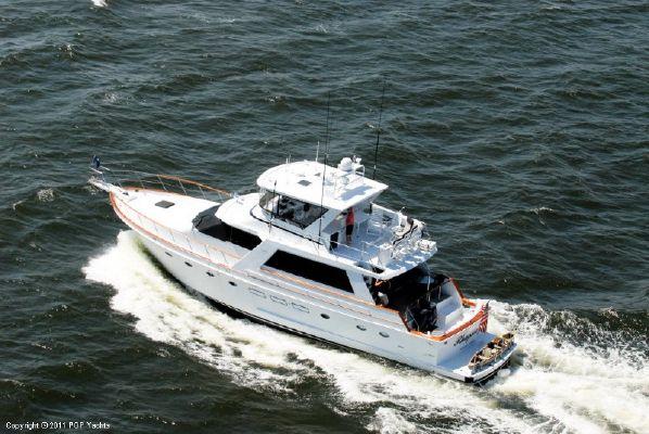 Ocean Alexander 71 Cockpit Motoryacht 1987 Motor Boats Ocean Alexander Boats
