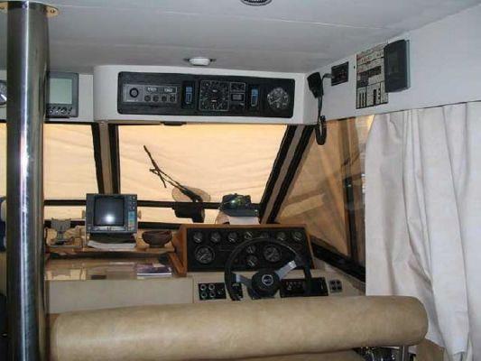 1987 princess 45 flybridge  4 1987 Princess 45 Flybridge