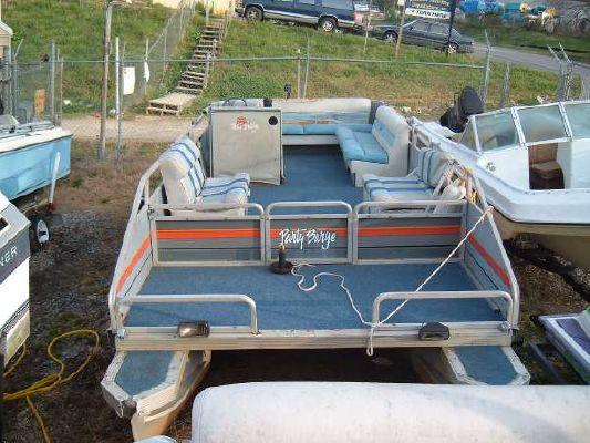 Sun Tracker 24 Party Barge 115 Johnson 1987 Sun Tracker Boats for Sale
