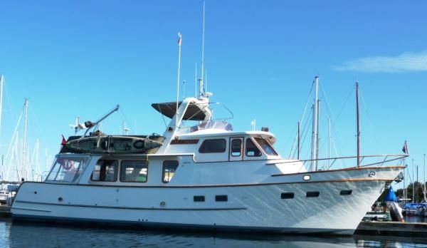 Boats for Sale & Yachts Defever 49 Raised Pilothouse 1988 Pilothouse Boats for Sale Trawler Boats for Sale