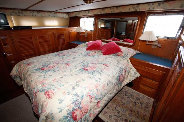Defever Stabilized Trawler Sundeck 1988 Trawler Boats for Sale