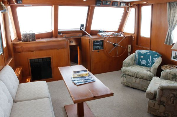 Defever Stabilized Trawler Sundeck 1988 Trawler Boats for Sale
