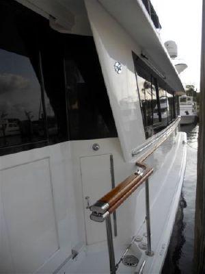 Hatteras Factory Cockpit 1988 Hatteras Boats for Sale