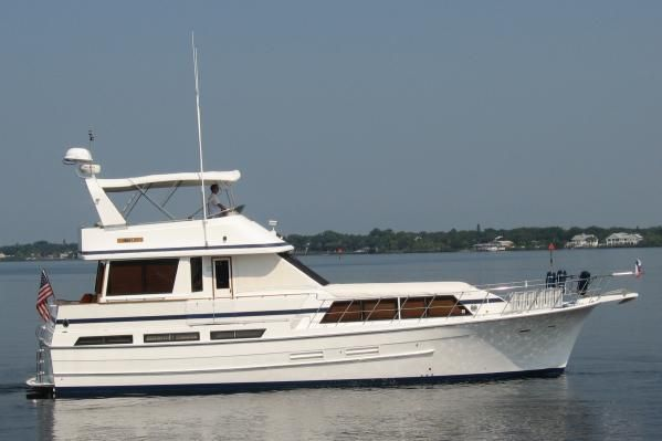 1988 jefferson 52 monticello boats yachts for sale for Jefferson motor yacht for sale