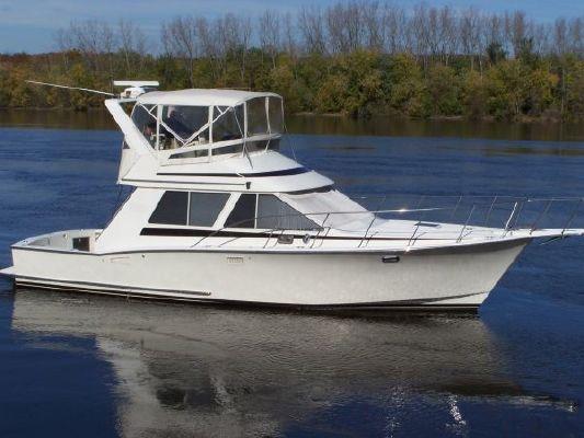 Tollycraft Sport Sedan *Similar to Hatteras & Viking* 1988 Hatteras Boats for Sale Viking Boats for Sale