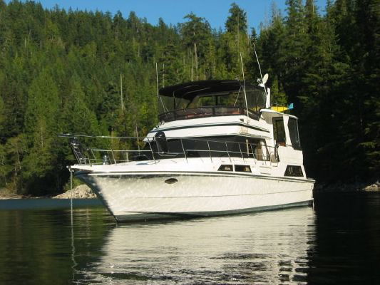 1988 vantare 48 cockpit motor yacht  2 1988 Vantare 48 Cockpit Motor Yacht