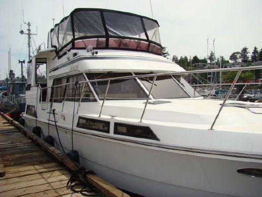 1988 vantare 48 cockpit motor yacht  4 1988 Vantare 48 Cockpit Motor Yacht