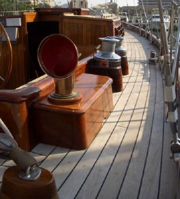 Alan Pape Williams Boatyard Classic Sailing Yacht 1989 All Boats Schooner Boats for Sale