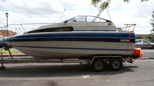 Bayliner 2455 Ciera 1989 Bayliner Boats for Sale