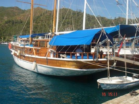 Custom Gulet Type Traditional Wooden Motor Sailer 1989 Ketch Boats for Sale
