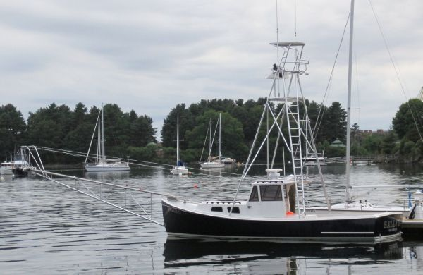 Holland Sportfish With Tuna Pulpit & Tower 1989 Sportfishing Boats for Sale