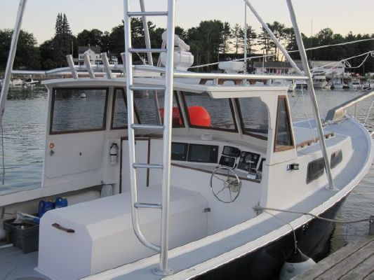 1989 holland sportfish with tuna pulpit tower boats for Tuna fishing boats for sale