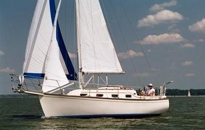 Boats for Sale & Yachts Island Packet 27 Cutter Keel C/B 1989 Sailboats for Sale