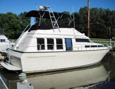 1989 mainship 41 double cabin boats yachts for sale for 41 ft mainship grand salon